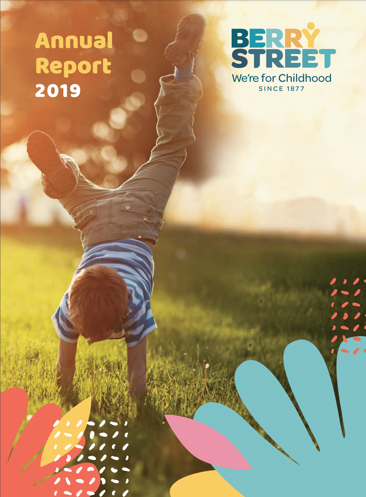 Berry Street Annual Report 2019 for Blick Creative