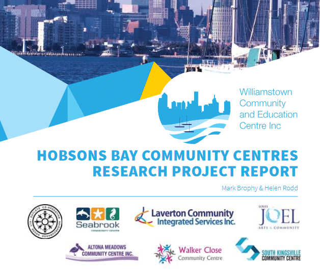 Hobsons Bay Community Centres Research Project Report for Blick Creative