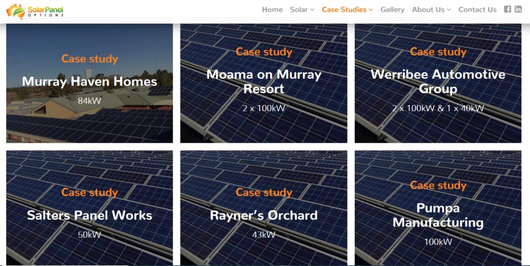 SolarPanelOptionsCaseStudiespicture
