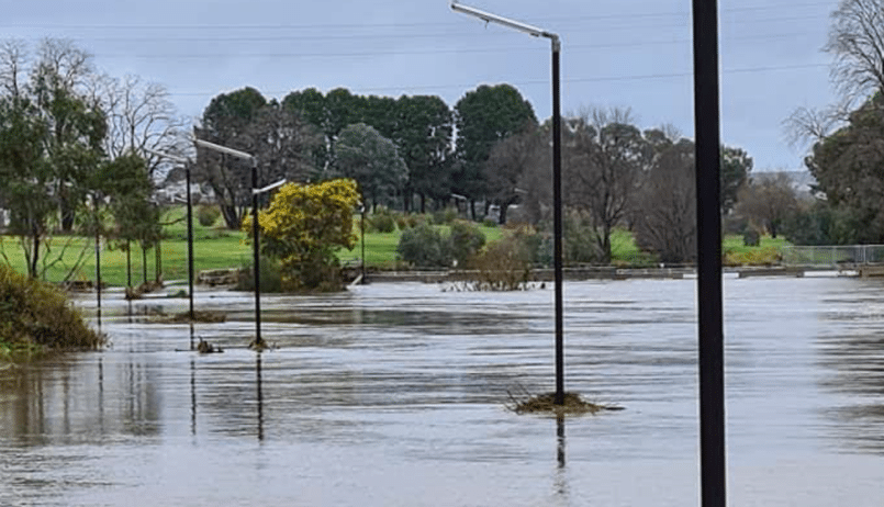 Website article: Leadsun solar lights stand strong after recent Goulburn floods